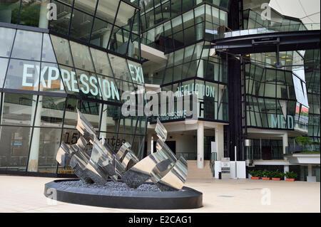 Singapore, LASALLE College of Arts è un specialista di istituzione terziaria portando Contemporary Arts Education Foto Stock