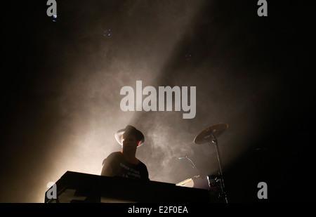 La Danimarca Trentemoller performing live al sonar music festival di Barcellona, Spagna Foto Stock