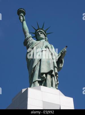 Statua della Libertà a Birmingham in Alabama Foto Stock