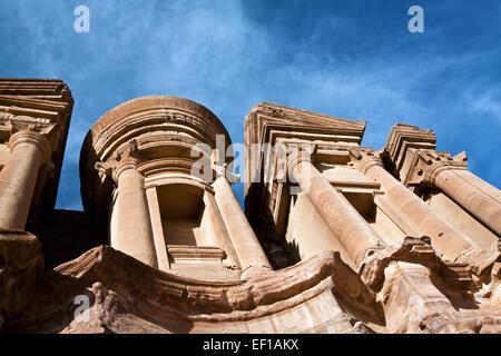 Petra in Giordania Foto Stock