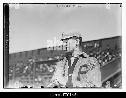 [Grover Cleveland Alexander, Philadelphia, NL (baseball)] Foto Stock