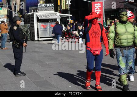 New York, NY, STATI UNITI D'AMERICA. 30 Novembre, 2015. La città di New York, Stati Uniti d'America, 30 novembre Foto Stock