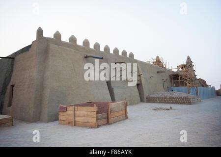 La moschea di Tinboktou Foto Stock