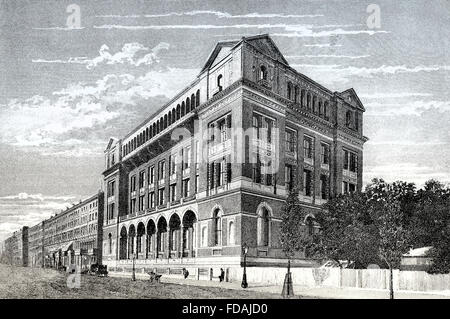 Il Royal School of Mines, South Kensington, secolo XIX, Londra, Inghilterra Foto Stock
