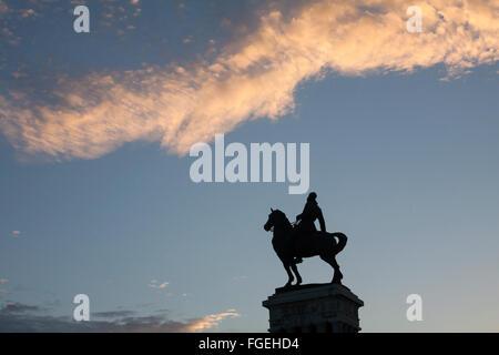 Monumento al generale di Maximo Gomez, Monumento Maximo Gomez, a l'Avana, Cuba, West Indies, Caraibi, America Centrale Foto Stock