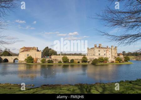 """Il Castello di Leeds, Kent, 'il castello più belle nel mondo intero"""" (Lord Conway) noto anche come """"Le signore del Foto Stock"""