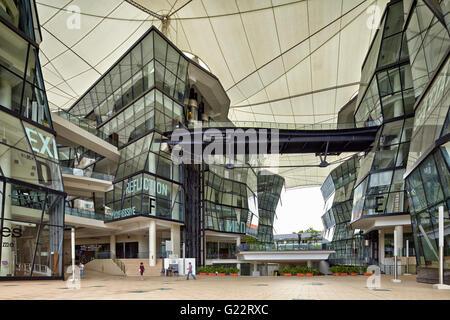 Il LaSalle College of Arts a Singapore il 15 luglio 2012. Foto Stock