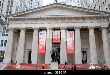 New York Stock Exchange, New York City, Stati Uniti d'America Foto Stock