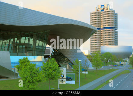 In Germania, in Baviera, Monaco di Baviera, Museo BMW Foto Stock