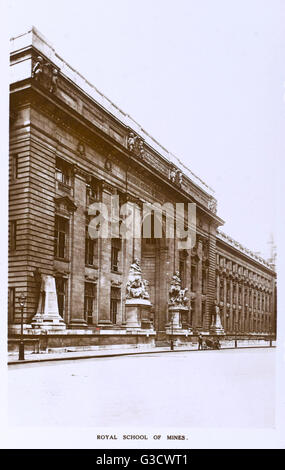 Imperial College of Science and Technology, South Kensington. Esso è stato istituito nel 1907 a Londra, scientifico Foto Stock