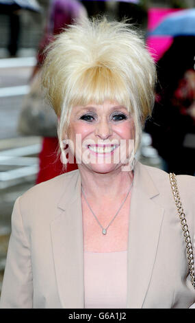 Barbara Windsor apparizione in Spamalot - Londra Foto Stock