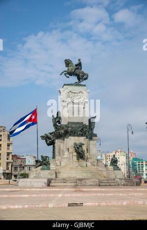 Monumento di Maximo Gomez, Havana, Cuba Foto Stock