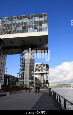 Casa di gru a Colonia Foto Stock