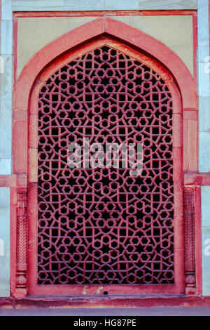 UNESCO World Heritage Site 'Humayun tombe' New Delhi, India. Foto Stock