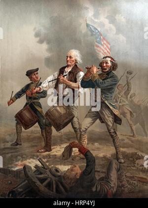 Lo Spirito del '76, Yankee Doodle Foto Stock