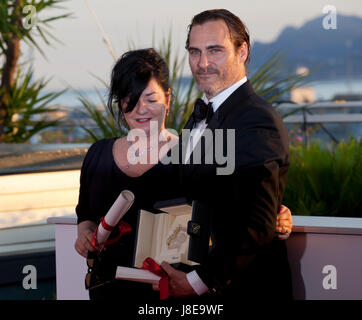 Cannes, Francia. 28 Maggio, 2017. Al del vincitore del Premio Photocall al settantesimo Cannes Film Festival sabato Foto Stock
