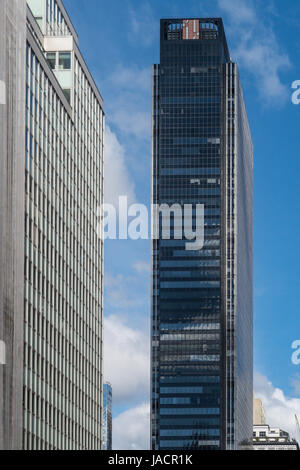 Grattacieli di New York City, Stati Uniti d'America Foto Stock