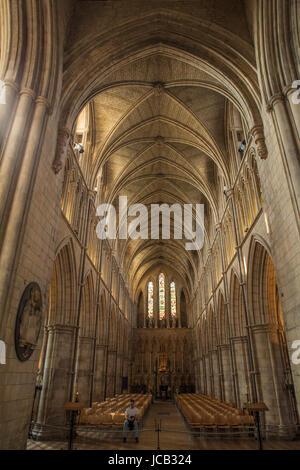 Cattedrale di Southwark soffitto a volta Foto Stock