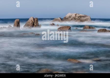 'Isolella, Punta di Sette navata, Pietrosella, Corsia, Francia Foto Stock