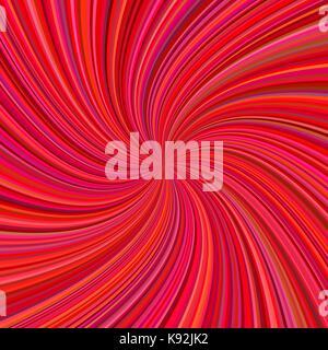 Abstract rosso sfondo a spirale Foto Stock