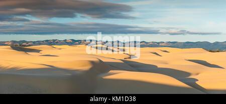 Foto panoramica di Oceano Dunes State Vehicular Recreation Area, Oceano dune naturali preservare, California, Stati Foto Stock