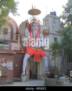 Pracheen Hanuman Mandir tempio di New Delhi India Foto Stock