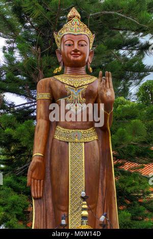 Asia,Thailandia,Chiang Mai,Wat Phra That Doi Suthep Temple Foto Stock