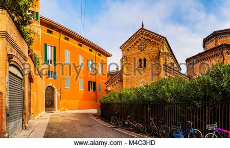 Basilica di Santo Stefano nella città di Bologna, Italia Foto Stock