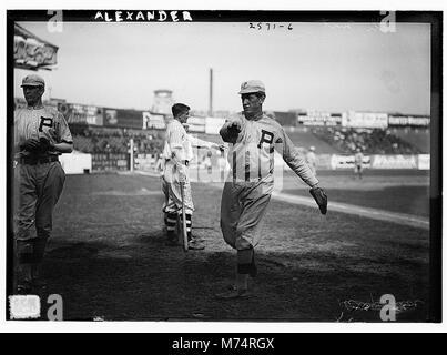 Grover Cleveland Alexander, Philadelphia NL (baseball) LCCN2014691603 Foto Stock