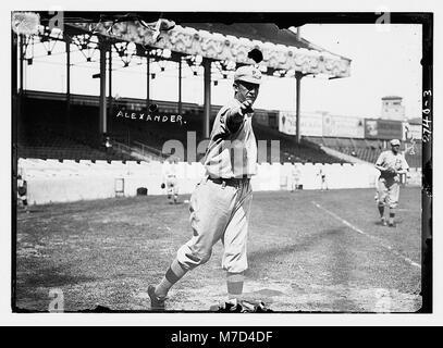 Grover Cleveland Alexander, Philadelphia NL (baseball) LCCN2014693380 Foto Stock