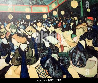 Deutsch: Tanzsaal in Arles inglese: Dance Hall di Arles Français : La Salle de danse à Arles Dicembre 1888. 1171 La Dance Hall di Arles (JH 1652) - Il mio sogno Foto Stock