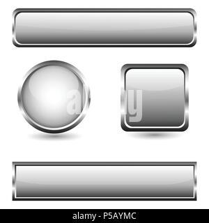 Set di web icone, pulsanti Foto Stock