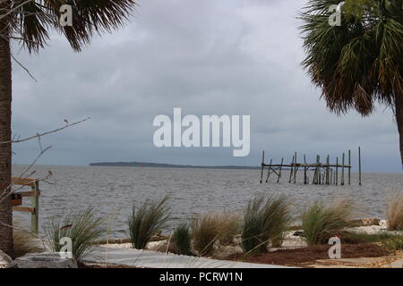 Isola Cedar Key, Florida, Stati Uniti d'America Foto Stock