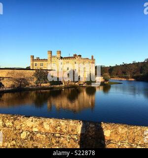 Il Castello di Leeds, Kent Foto Stock