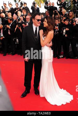 Festival del Cinema di Cannes 21stMay presso un tappeto rosso Quentin Tarantino l Foto Stock
