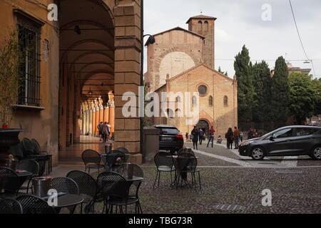Piazza Santo Stefano, BOLOGNA, Italia Foto Stock