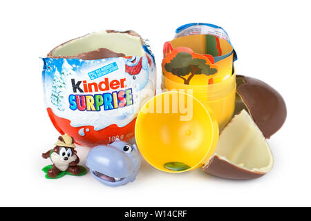 Sorprese Kinder, giocattolo Foto Stock