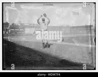 Grover Cleveland Alexander, Philadelphia NL (baseball) Abstract/medio: 1 negativi : vetro 5 x 7 in. o inferiore. Foto Stock