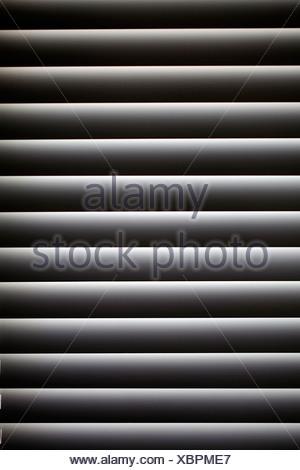 Chiusa la finestra veneziana non vedenti Foto Stock