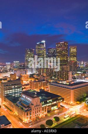 Il centro cittadino di Los Angeles, California, Stati Uniti d'America