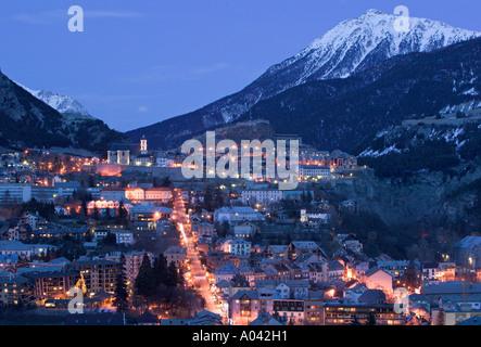 Briancon, Haut Alpi, Francia Foto Stock