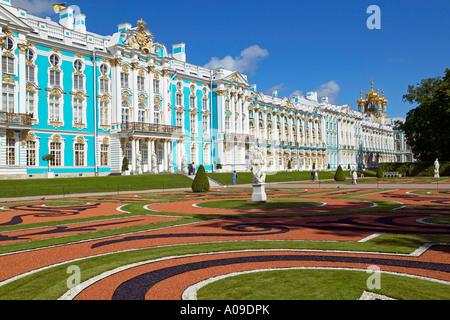Sankt Petersburg Katharinenpalast, Castello Katharinas Palace di Puschkin Foto Stock