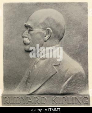 Joseph Rudyard Kipling, 1865 - 1936. Autore britannico. Foto Stock