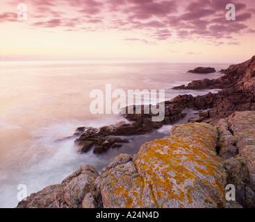 La costa vicino a Sheigra, vicino Kinlochbervie, Sutherland, Highland, Scotland, Regno Unito Foto Stock