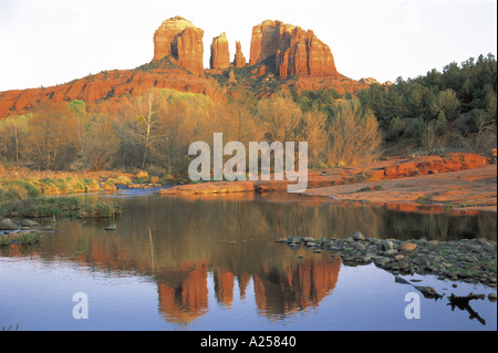 Cattedrale ROCK Sedona in Arizona USA Foto Stock