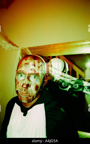 I morti viventi di halloween in Inghilterra, Regno Unito Foto Stock