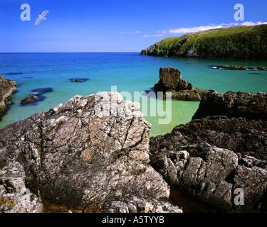 GB - Scozia: Sango baia vicino a Durness nelle Highlands Foto Stock