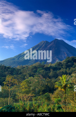 Volanco Arenal Zona Norte Costa Rica Foto Stock