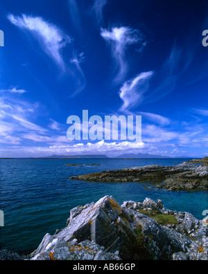 Isole di Eigg e rum da Traigh, Arisaig.