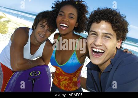 Gruppo di amici Foto Stock